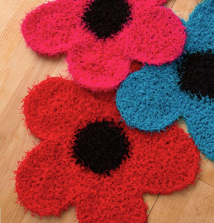 Knitted Kitchen Scrubbies And Cloths
