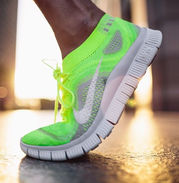 Nike Neon Light Shoes