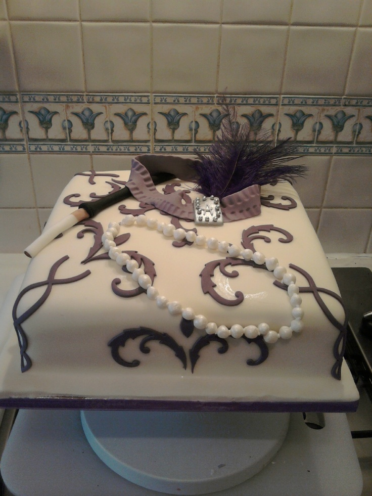 17 Best Images About 1920s Cake On Pinterest Art Deco