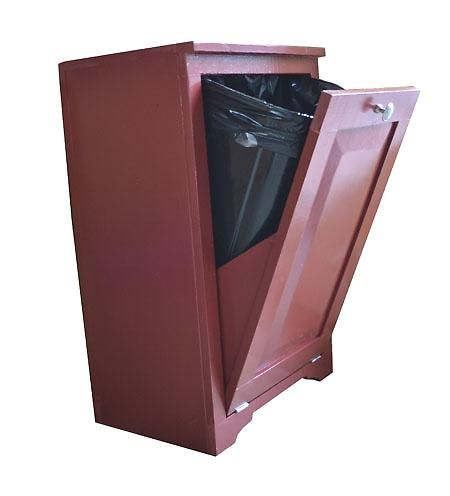 Must Build This To Hide My Ugly Kitchen Trash Can I M