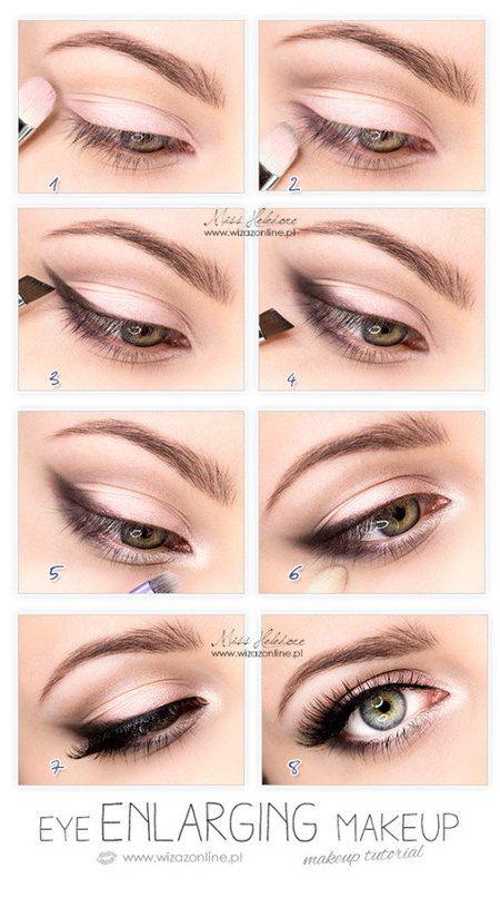 Brown Look Eyes Bigger Make