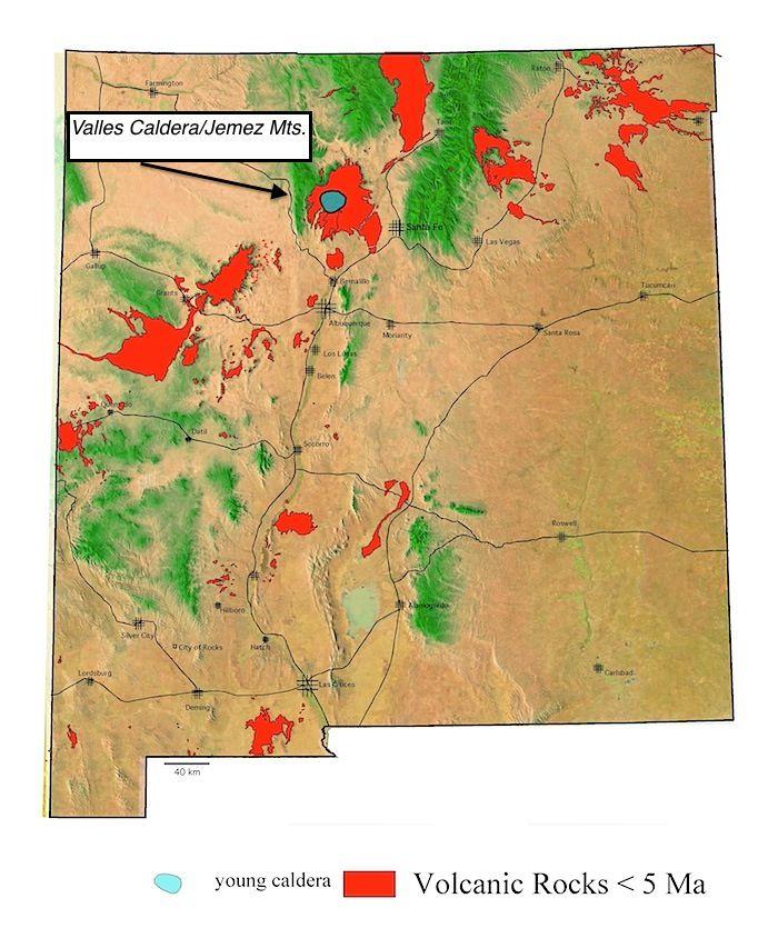 Caldera Valles Geology
