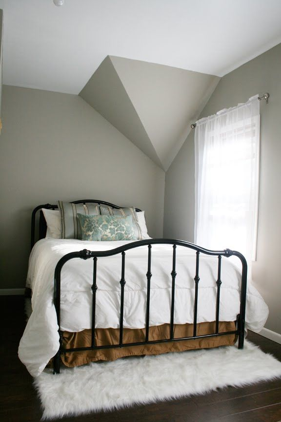 Black And Gray Master Bedroom