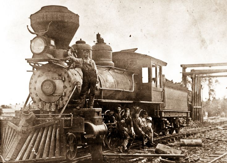 Abandoned Shops Locomotive