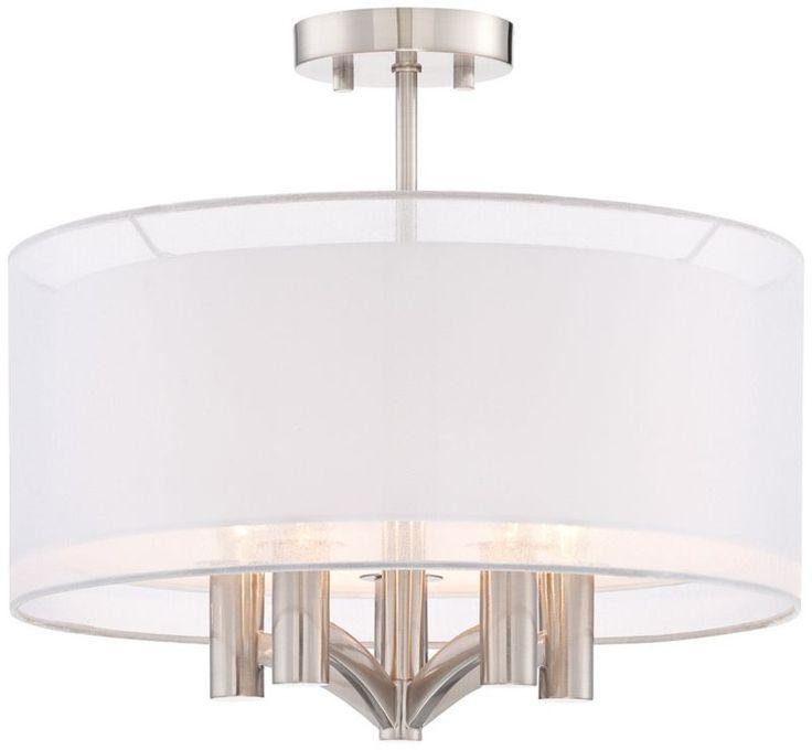 Caliari 6 Light 22 Wide Brushed Nickel Pendant Light