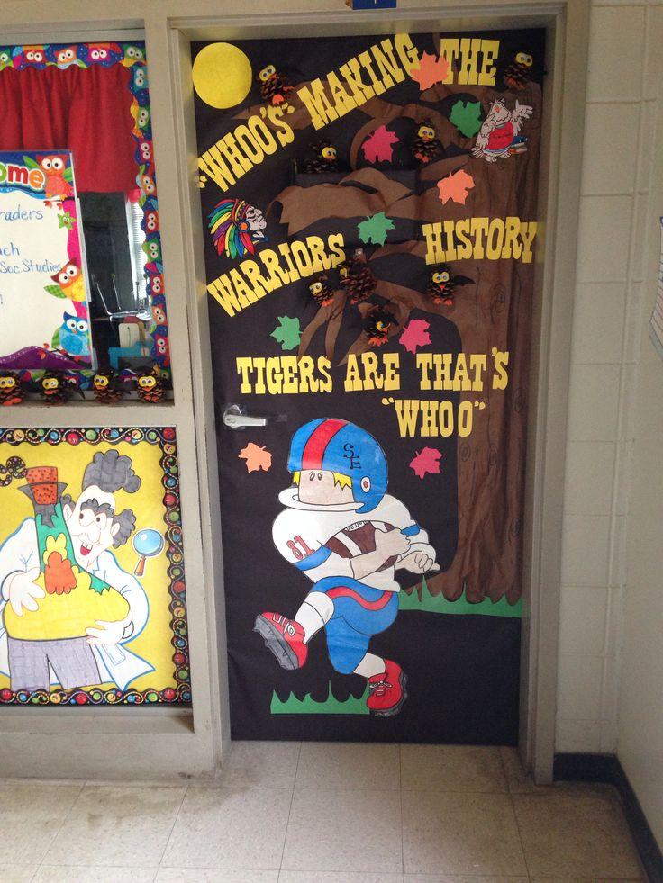 Homecoming Classroom Door Decoration High School Life