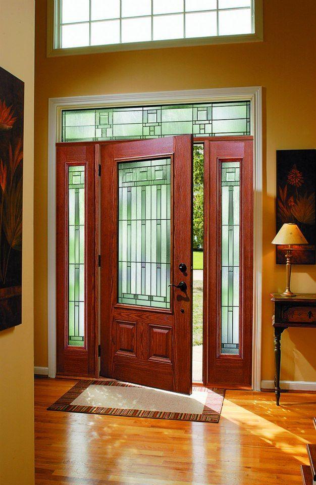 Pella Fiberglass Double Entry Doors
