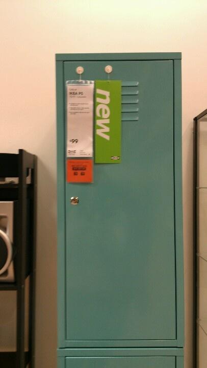 Turquoise Locker Unit Ikea 99 Gym Decor Pinterest