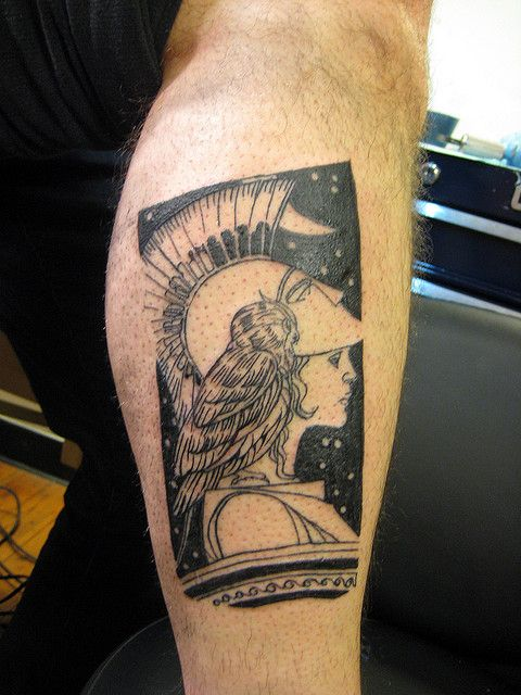 Athena. Think this was done at Black and Blue in SF ...