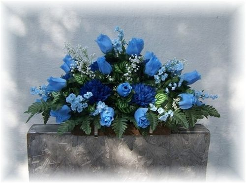 Headstone Flowers Topper