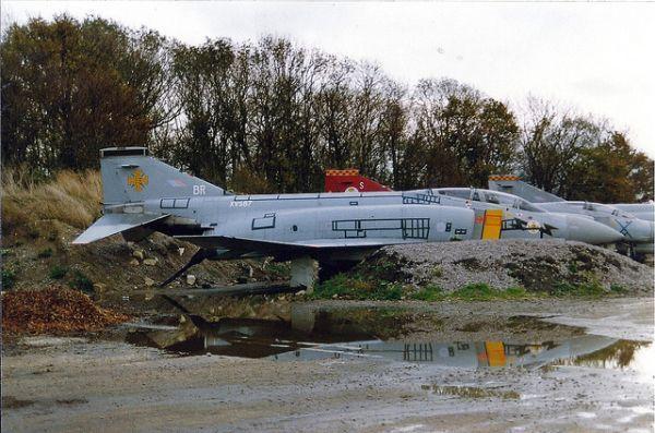 Abandoned 4 Phantom F Aircraft