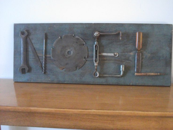 Upcycled Tool Art Empty The Nest Has Tools Upcycle