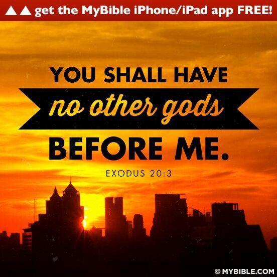 10 Commandments Exodus Kjv