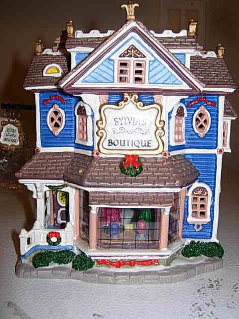 Heartland Valley Village Lighted Houses