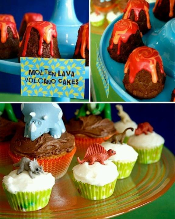 Put Cupcakes Dinosaurs