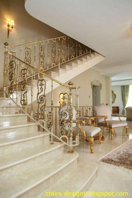 Exterior Stair Handrails