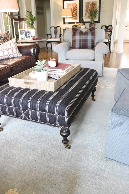 Ottoman Footstool Coffee Table