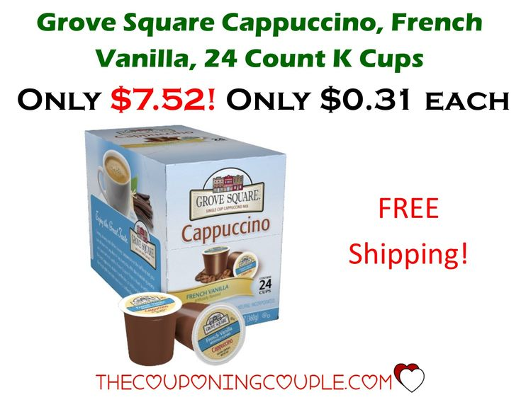 K Cup French Vanilla Cappuccino Drink Mix