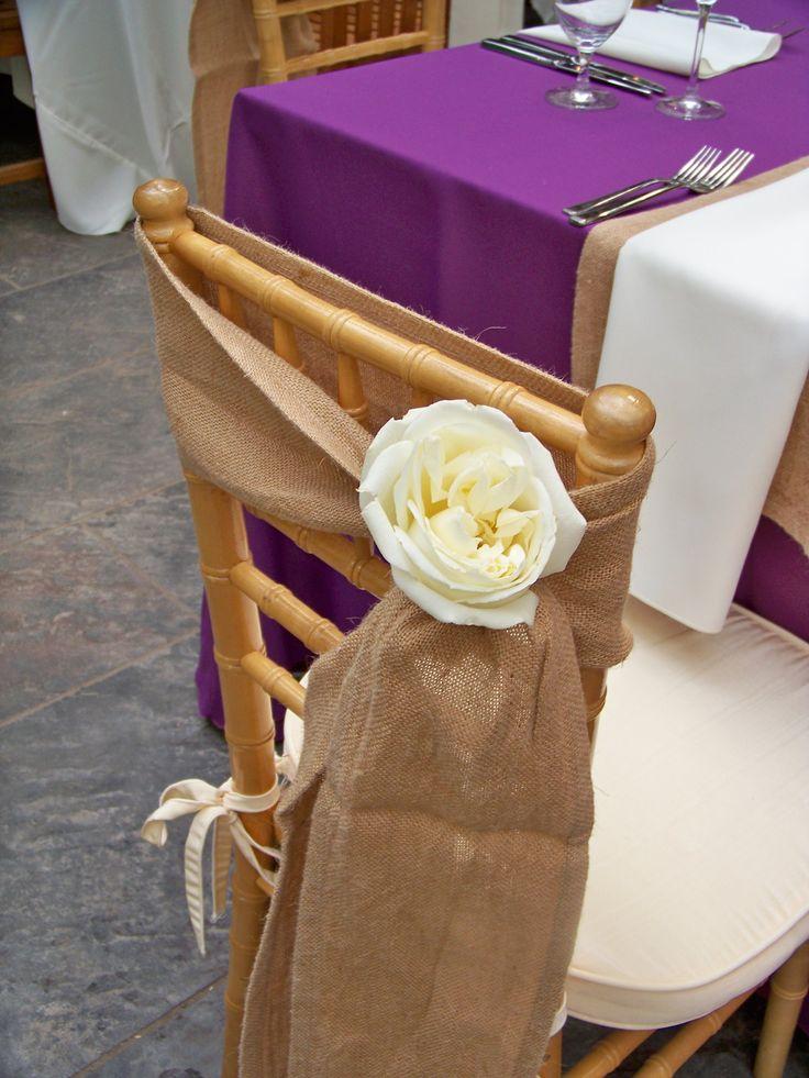 Eggplant Fall Wedding