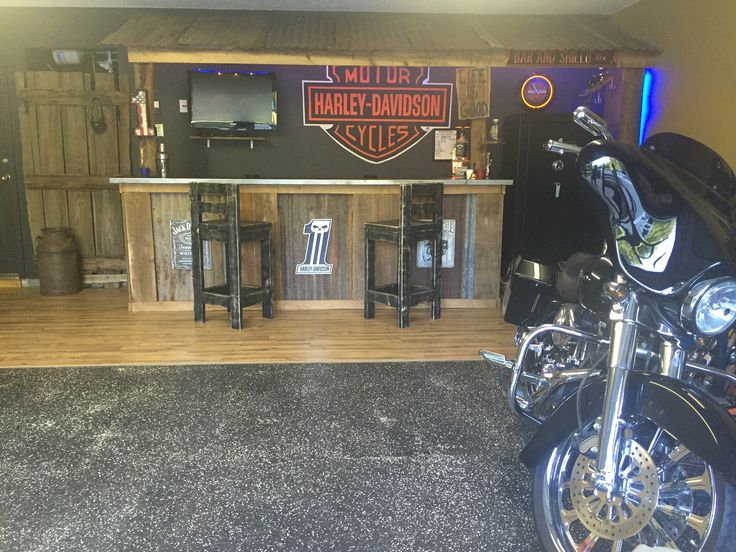Harley Davidson Home Bar Ideas