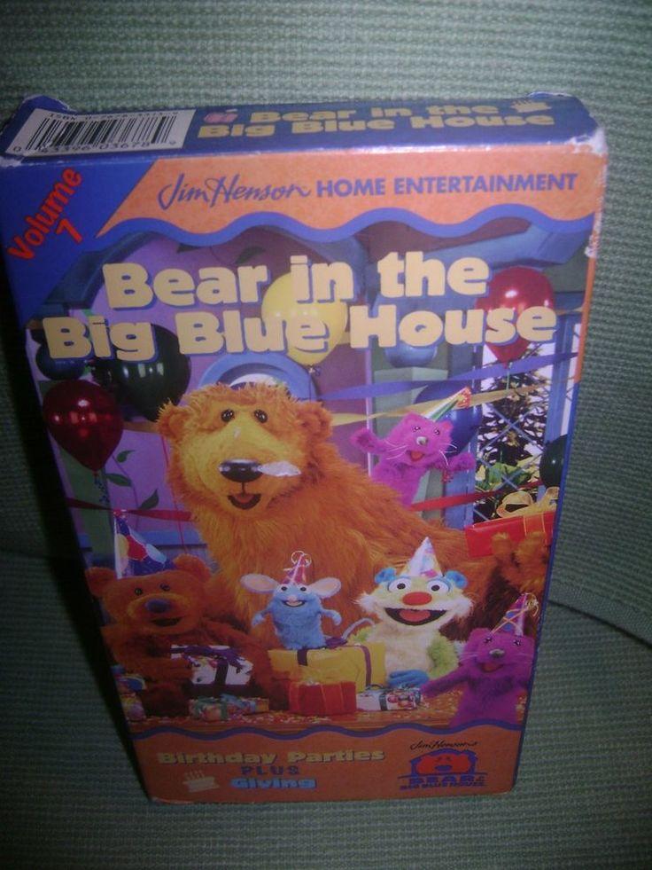 Vhs Vhs Blue Volume House 8 Big Bear 2