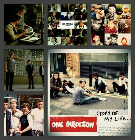 """""""Story of My Life"""" One Direction Collage. 