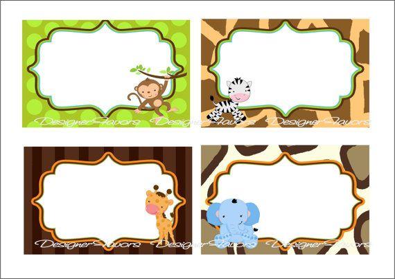 Safari Baby Shower Decorations Ideas