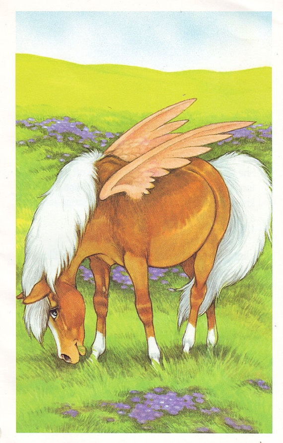 Drawings Unicorns Wings