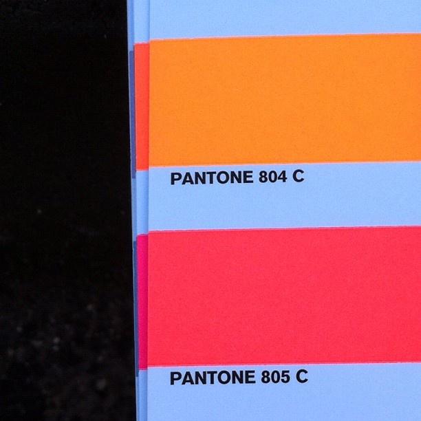 Pantone 805 le fameux rose Corail Néon   Rasberry pantones ...