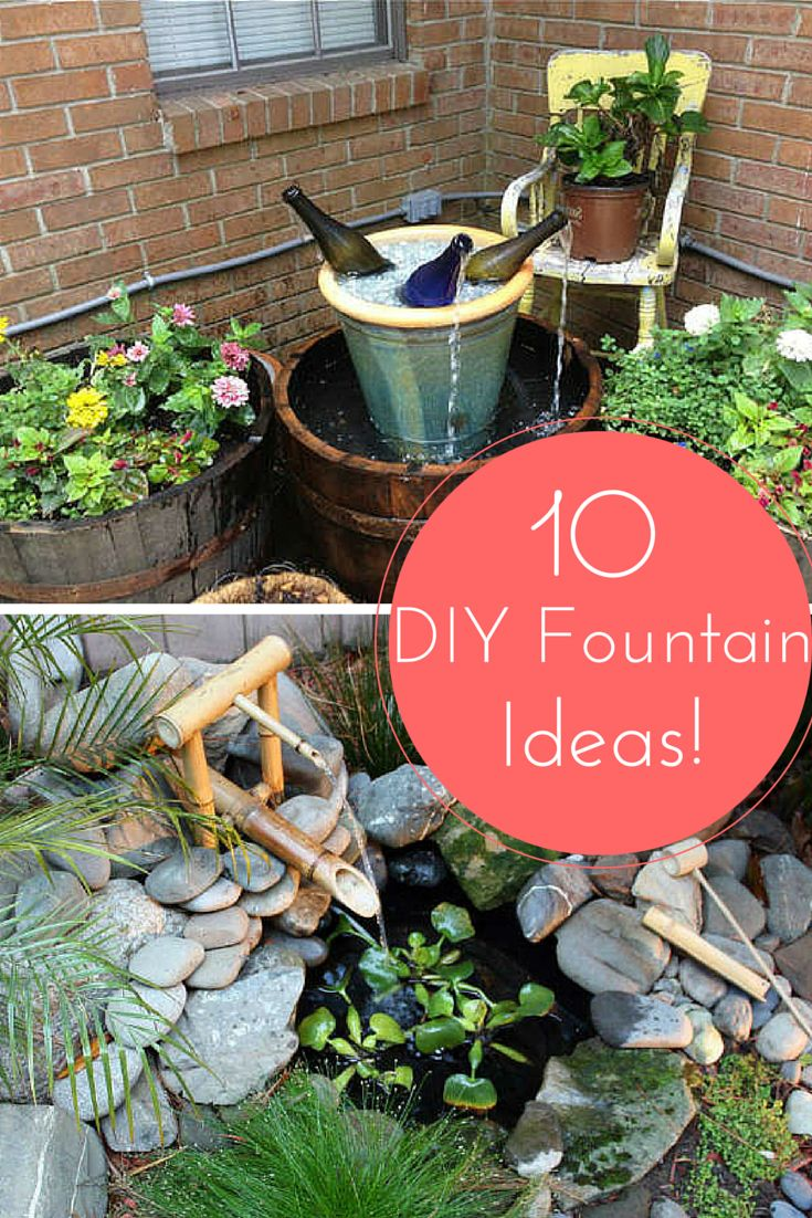 Design Your Own Garden Water Feature