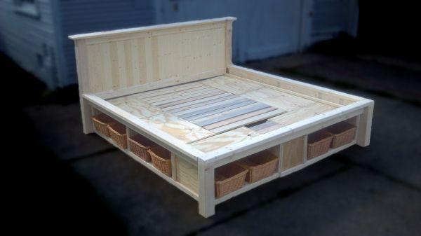 Recessed Platform Bed I Can Make That Pinterest