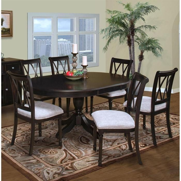 Round Dining Room Sets Leaf