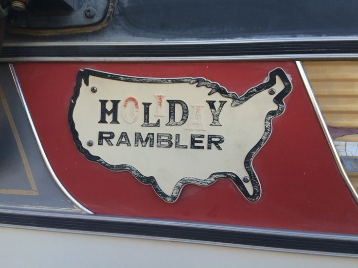 1966 Holiday Rambler Camper