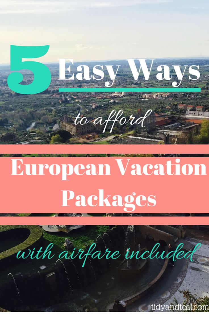 Eurotrip Travel Packages