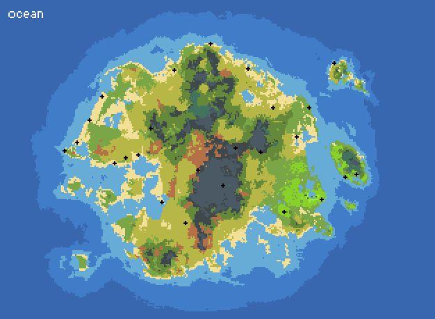 Imaginary Map Maker