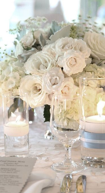Simple Table Wedding Decorations