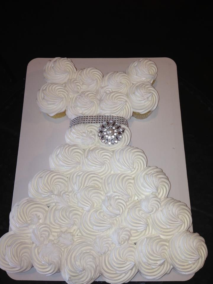Dress Cupcake Cake Baby Showers