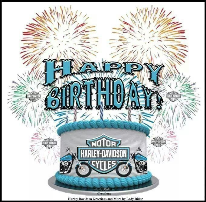 Harley Davidson Happy Birthday Wishes