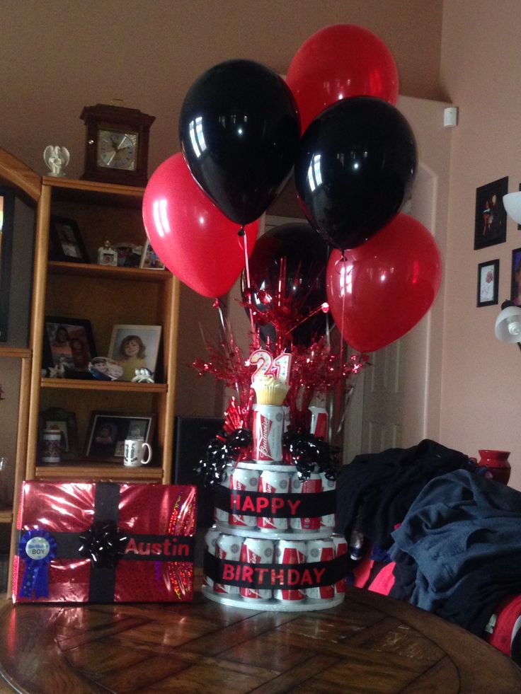 21st Beer Can Birthday Cake Gift Ideas For Family And