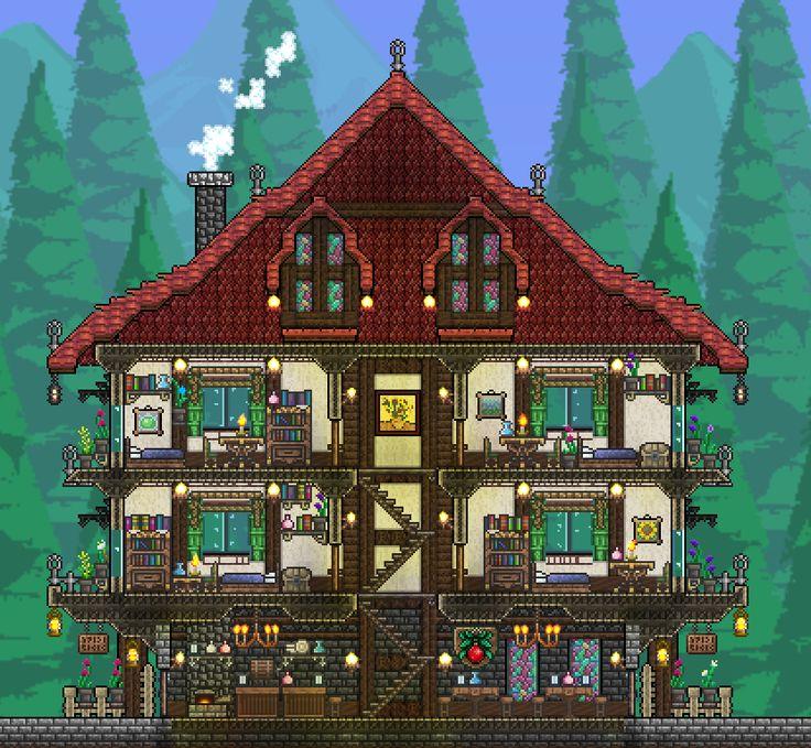 Epic Terraria House Big