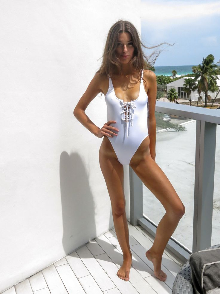 Lace One Piece Bathing Suit