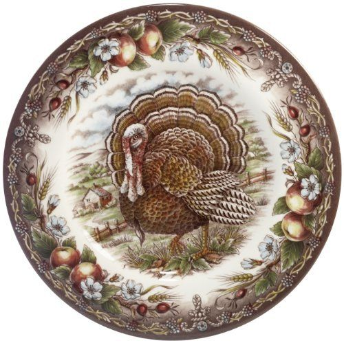 Thanksgiving Dinner Turkey Plates