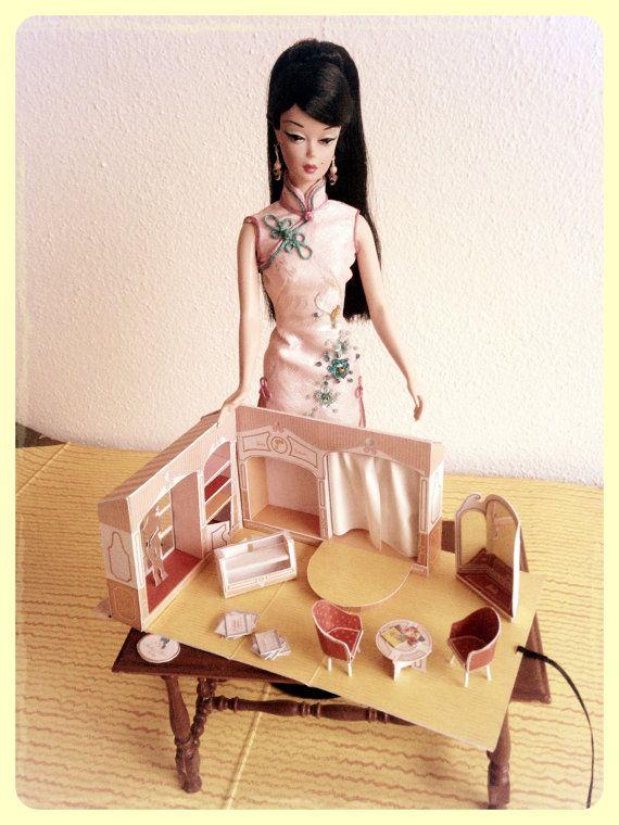 Vintage Dollhouse Chandelier