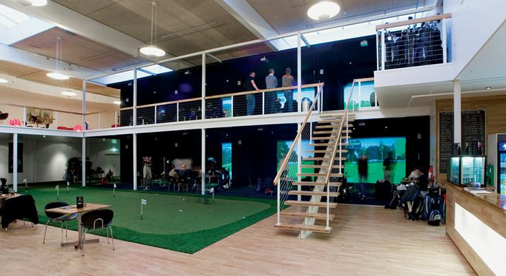 indoor golf simulator business plan
