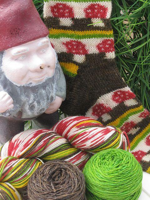 Finger Knitting Ornament