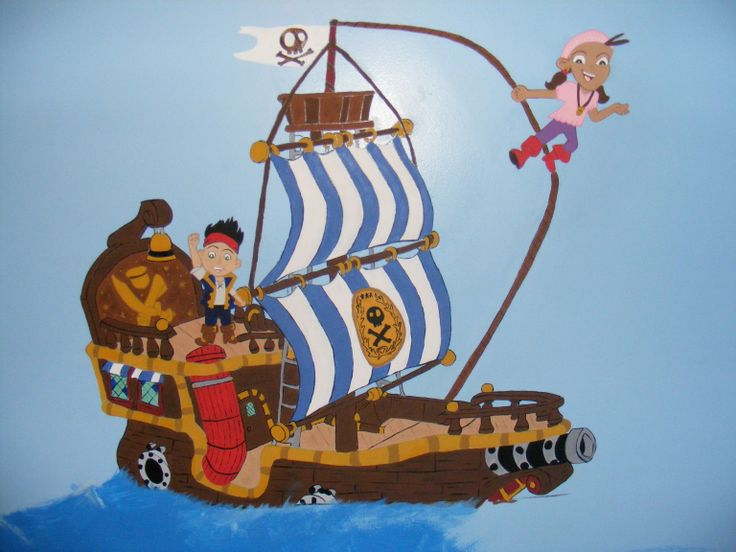 Jake Neverland Pirates Wall And Art