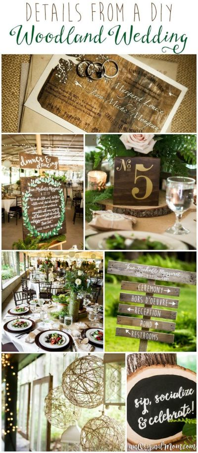 17 Best ideas about Woodland Wedding on Pinterest | Forest ...