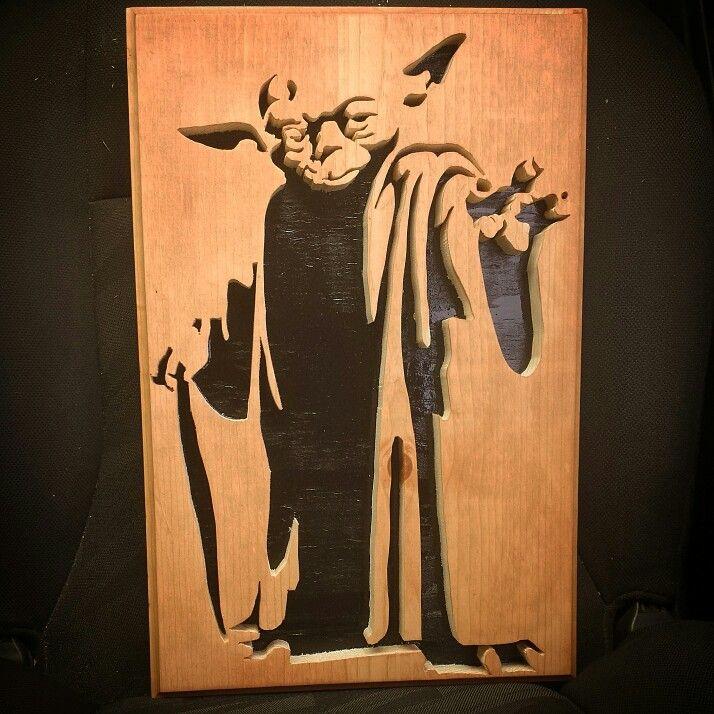 Star Wars Projects Wood Saw Scroll
