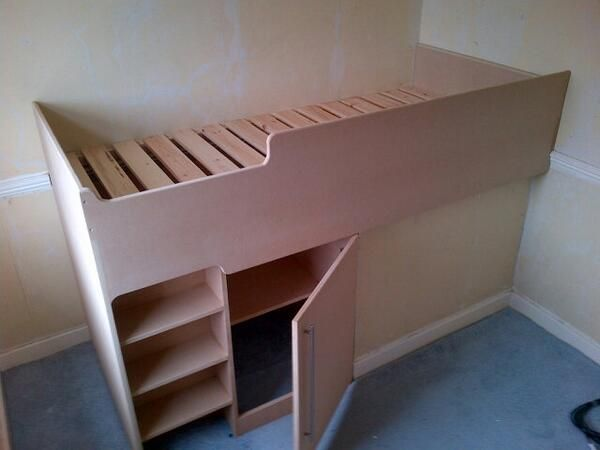 Cabin Bed Over Stair Box Bedrooms Pinterest Cabin
