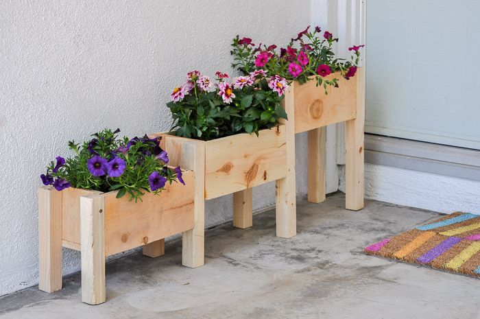 Outdoor Garden Box Ideas